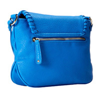 Big Buddha's Arlington Cross Body-Ocean Blue