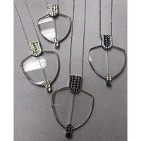 Deco Readers Pendant Necklace