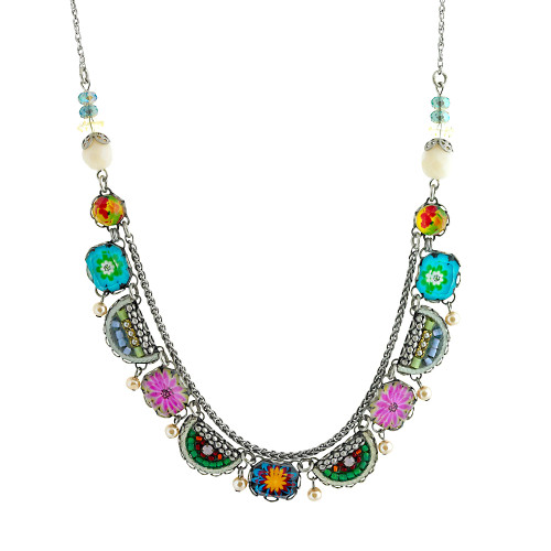 Cabo Bright Glass Necklace