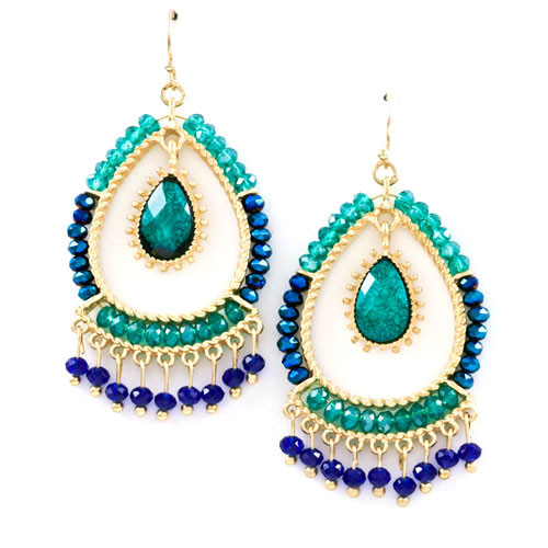 Islamorada Beaded Earrings 1
