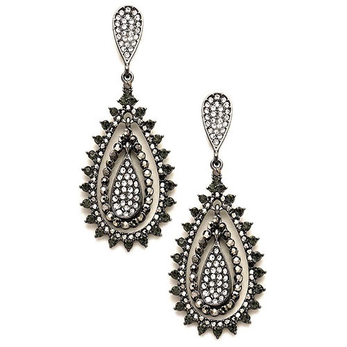 Black Diamond Romantica Earrings