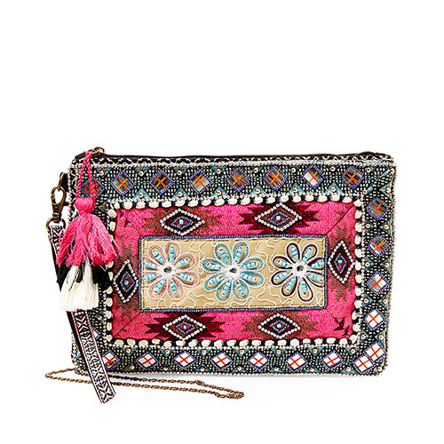 Steve Madden's Samara Embroidered Clutch 1
