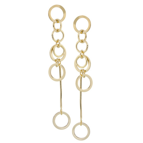 Gold Shoulder Duster Dangles