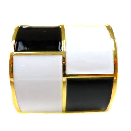 Black and White Twiggy Cuff