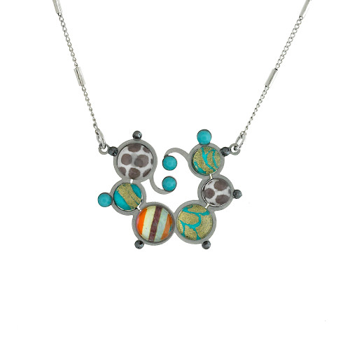 Cabo Mod Flower Necklace