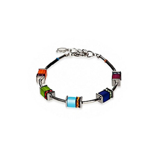 Polaris Cubes and Swarovski Crystal Bracelet