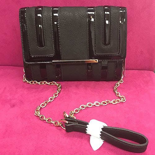 Big Buddha's Temple Cross Body- Black