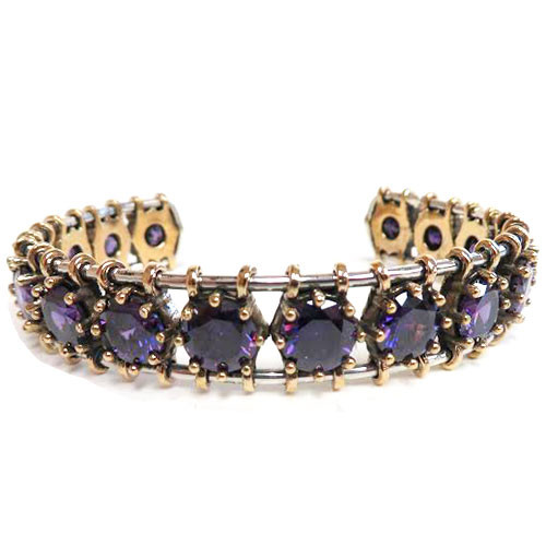 Amethyst Empire Cuff