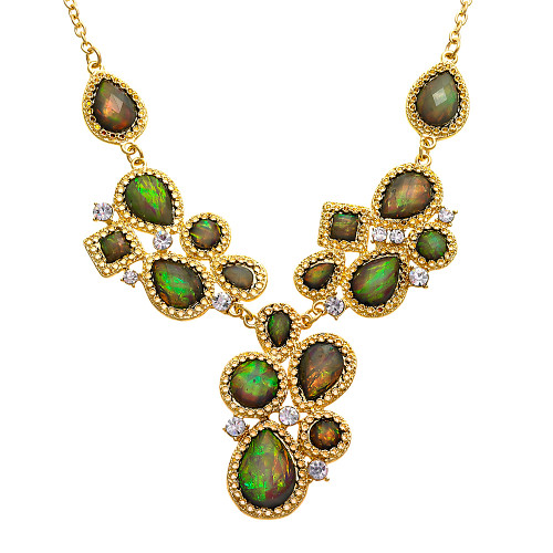 Exotica Gray Opal Necklace