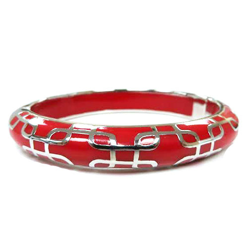 AHC's Red and Silver Sailor Bangle