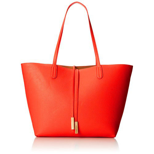 Steve Madden's Departure Reversible Tote/Crossbody Coral