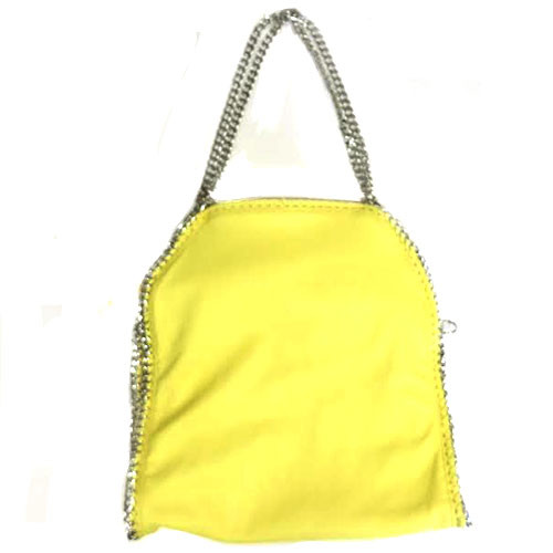 Bright Yellow Chain Bag
