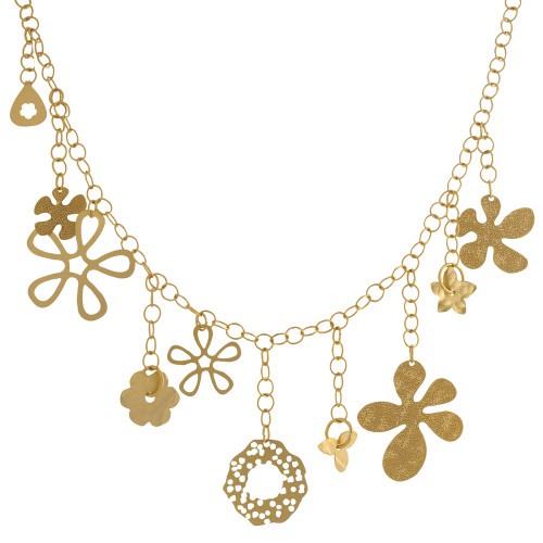 """22"""" Bold Gold Chain with Charms"""