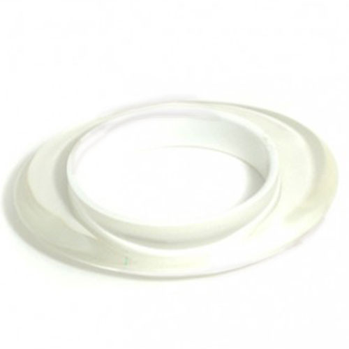 White Color Injected Lucite Bangle
