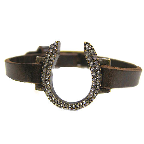 """Good Luck""å Horseshoe Bracelet"