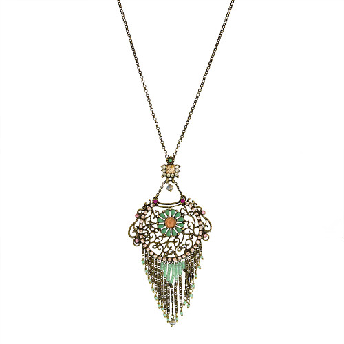 Filigree Gypsy Long Pendant