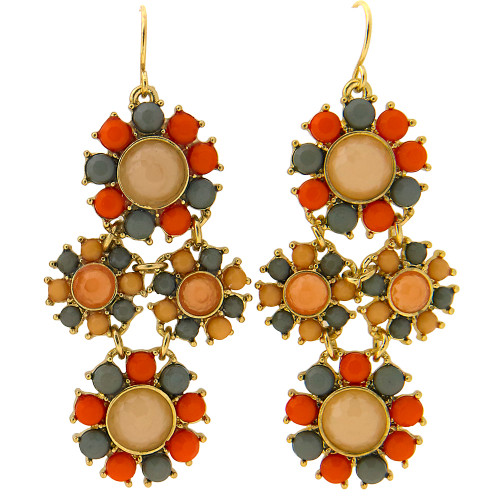 Kyky & Zo Flower Drop Earring