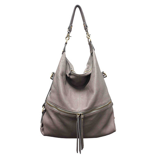 "Sondra Roberts ""Perfect""å Gray Handbag"