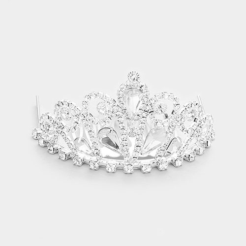 The Meagan Mini Crystal Tiara