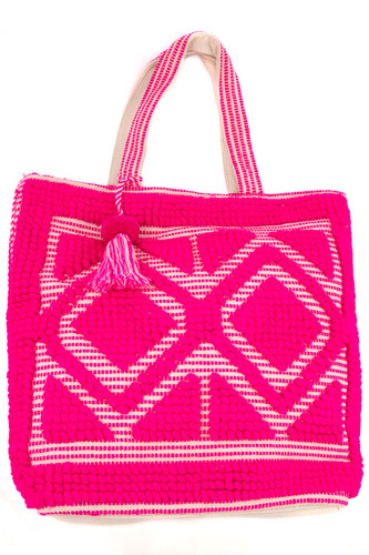 The Navaho Chunky Knit Tote
