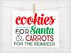 Cookies For Santa Digital Cutting File