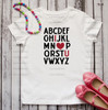 ABC ILOVEU HEAT PRESS TRANSFER