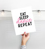 Eat Sleep Dance Repeat Digital Cutting File