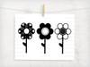Flower Trio  Digital Cutting File