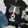 Mama Skeleton & Baby Girl HEAT PRESS TRANSFER