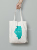 Make a cute bag with your state on it. Simply use our heat transfer vinyls.