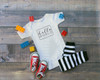 Use our heat transfer vinyls to make an adorable onesie