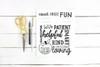 Teacher Clipboard Art Digital Cutting File
