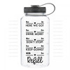 Daily H2O Water Bottle Digital Cutting File #7