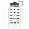 Daily H2O Water Bottle Digital Cutting File #5