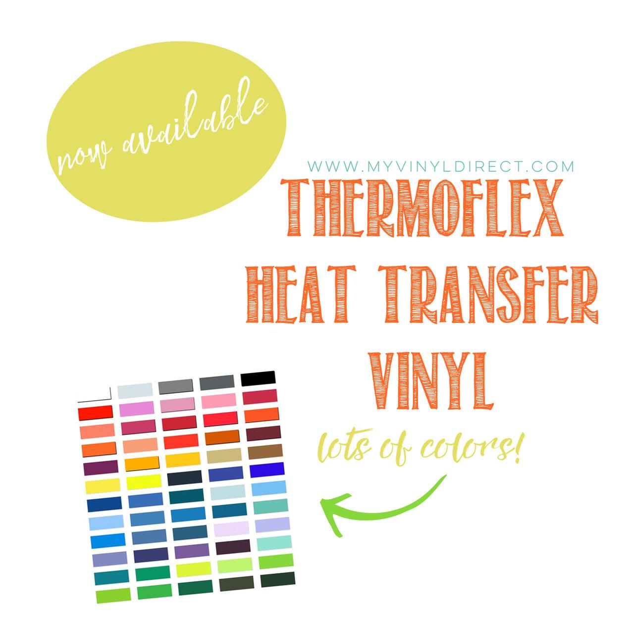 Thermoflex Plus Heat Transfer Vinyl Sheet My Vinyl Direct