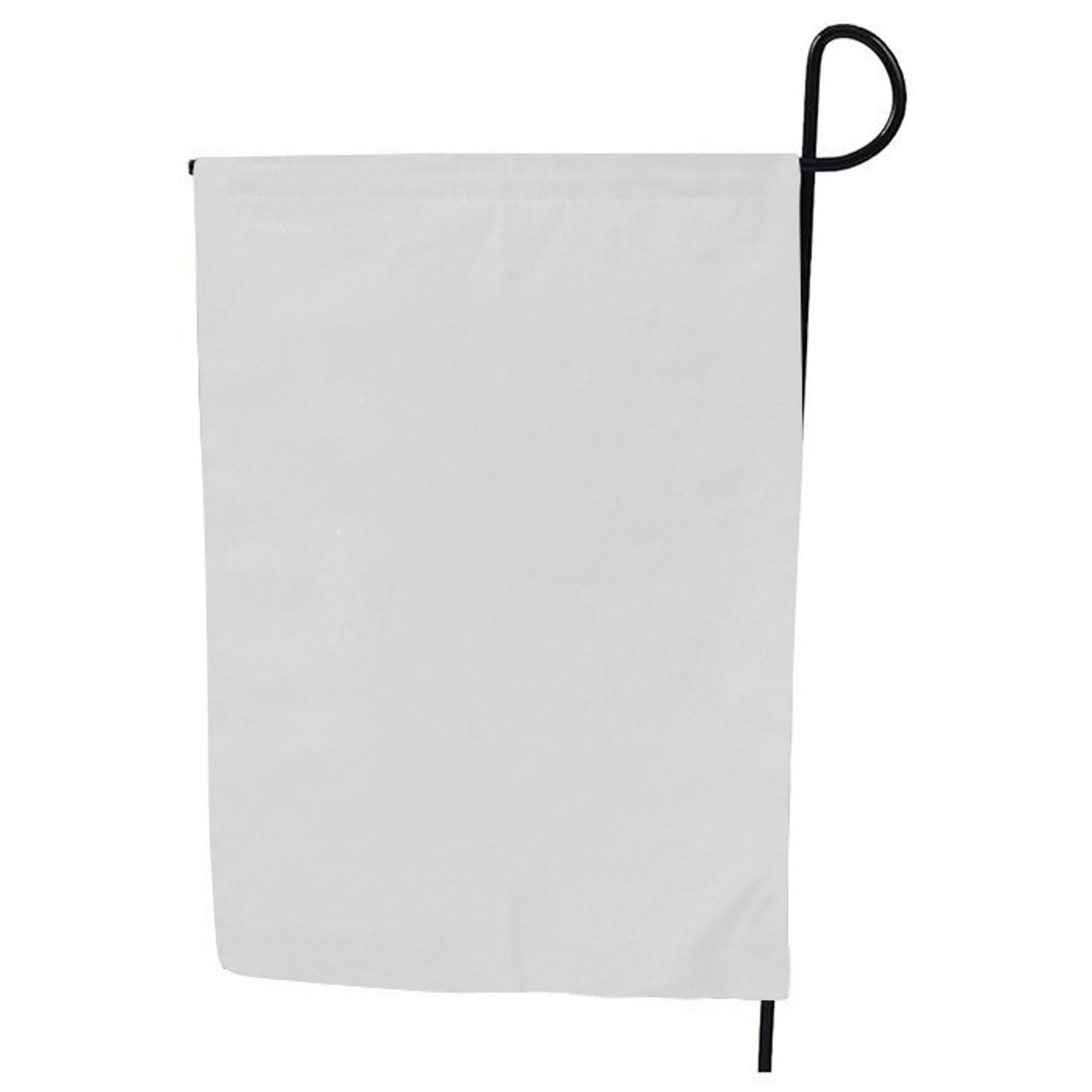 White Garden Flag My Vinyl Direct