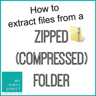 Extract Files From A Zipped (Compressed) Folder