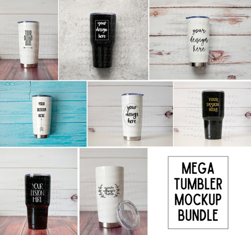 Mega Tumbler Mock-Up Bundle