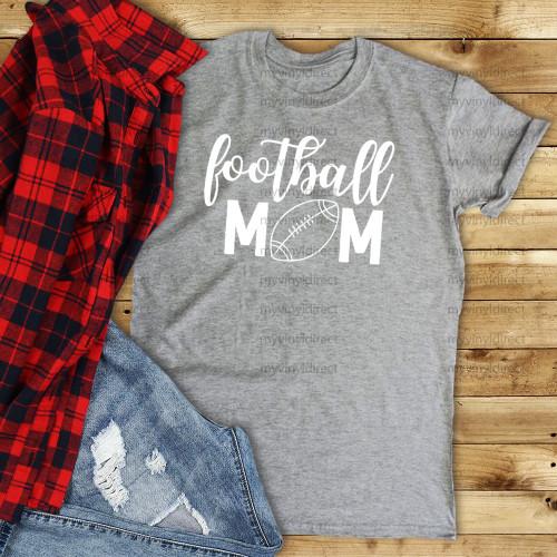 Football Mom HEAT PRESS TRANSFER