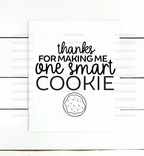 One Smart Cookie Digital Cutting File