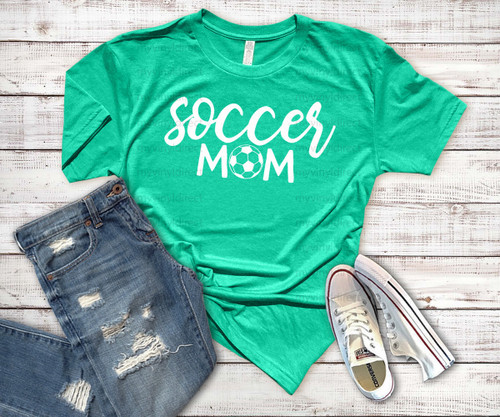 Soccer Mom HEAT PRESS TRANSFER