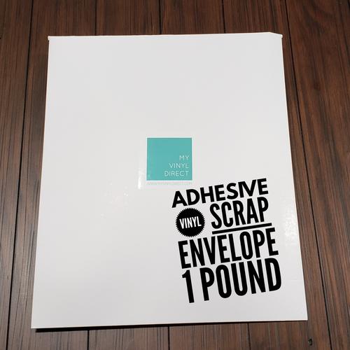 Adhesive Vinyl SCRAP Envelope - 1+ POUND