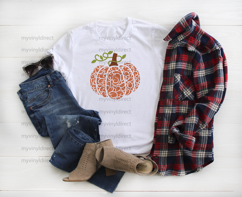 Ornate Pumpkin | Sublimation Transfer