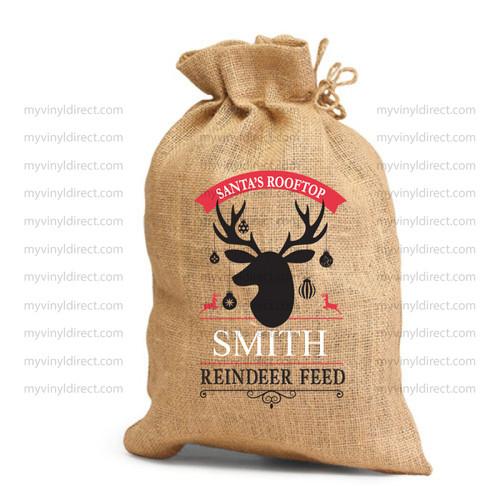 Reindeer Feed Digital File