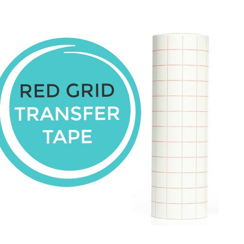 Red Grid Paper Transfer Tape 12 Quot X10 Yard Roll My Vinyl