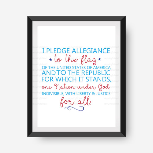 Pledge of Allegiance Digital File