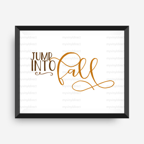 Jump Into Fall Digital File