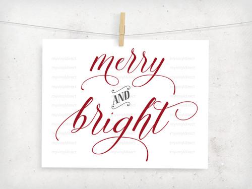 Merry & Bright Digital File