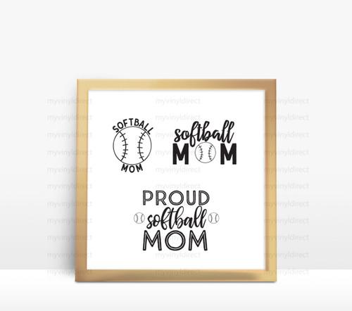 Softball Mom Digital File Pack