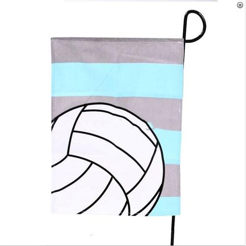 Volleyball Garden Flag